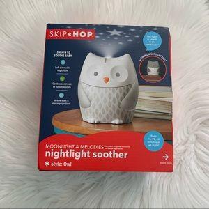 NIB SkipHop Moonlight &Melodies Nightlight Soother